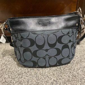 Coach Zoe Signature Shoulder Bag